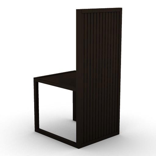 Cad 3D Free Model armanicasa  sofia_sedia