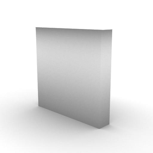 Cad 3D Free Model artemide A_parete  accessorio_pannello