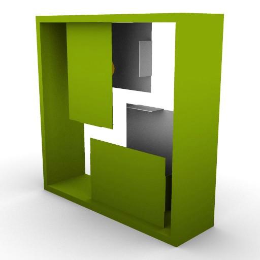 Cad 3D Free Model artemide A_parete  fato