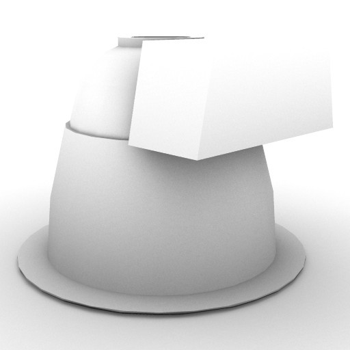 Cad 3D Free Model artemide A_parete  ld_266_screen