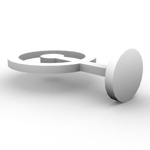 Cad 3D Free Model artemide A_parete  lice