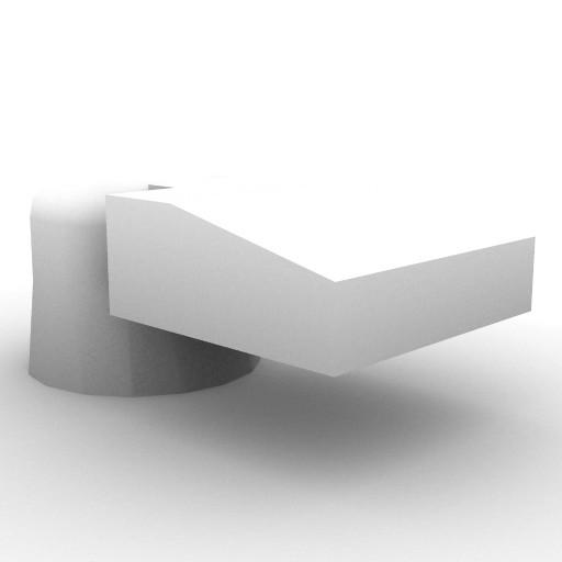 Cad 3D Free Model artemide A_parete  luceri_150