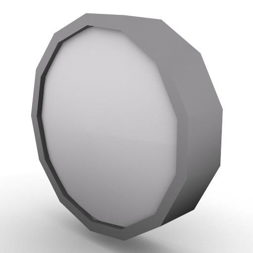 Cad 3D Free Model artemide A_parete  niki