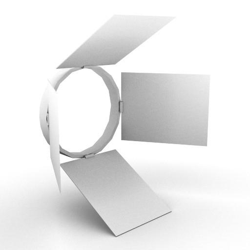 Cad 3D Free Model artemide A_parete  oto_paraluce_130_orientab