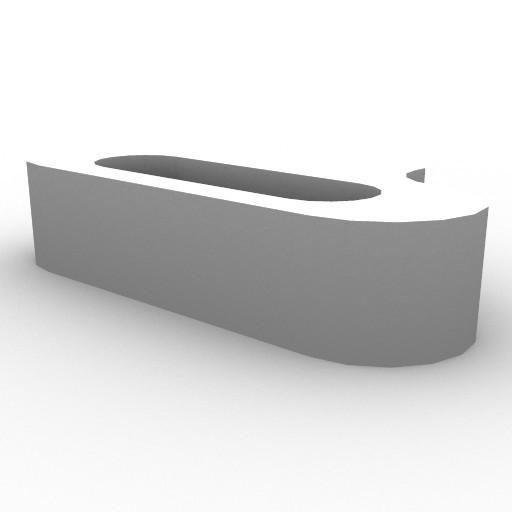 Cad 3D Free Model artemide A_parete  talo_parete_halo