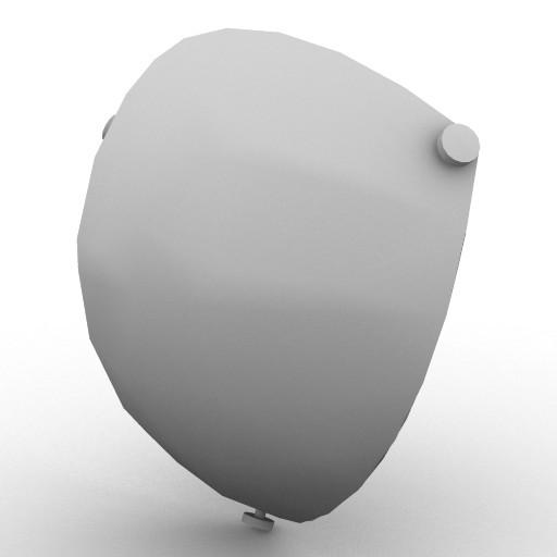 Cad 3D Free Model artemide A_parete  utopia_22