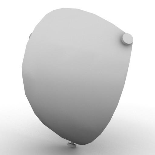 Cad 3D Free Model artemide A_parete  utopia_52