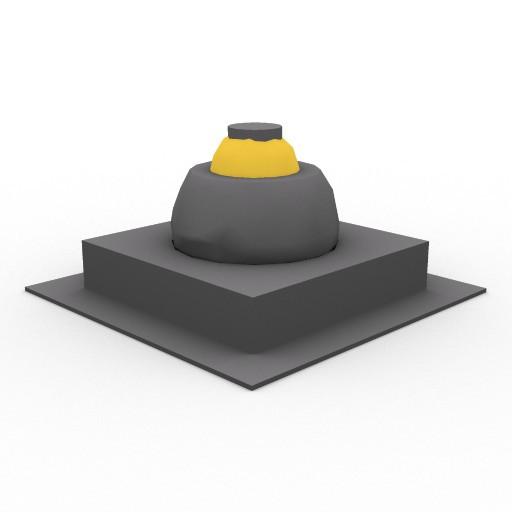 Cad 3D Free Model artemide Ad_incasso  java_quadratol_a_uno