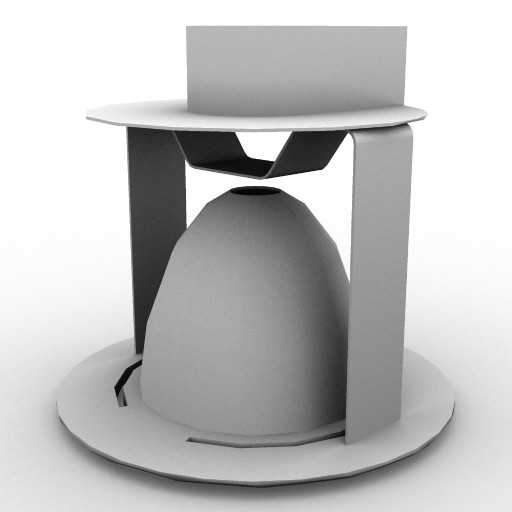 Cad 3D Free Model artemide Ad_incasso  ld_156