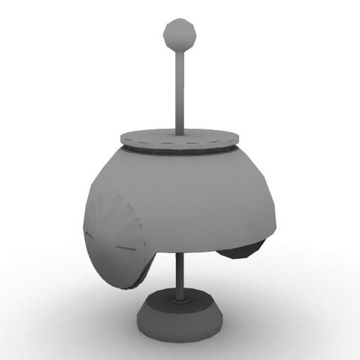 Cad 3D Free Model artemide Da_tavolo  alfa