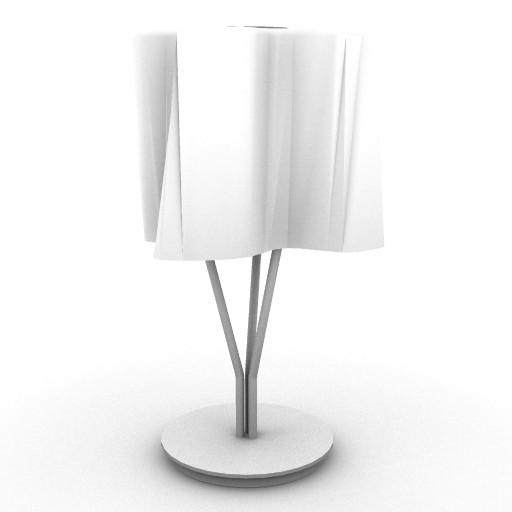 Cad 3D Free Model artemide Da_tavolo  logico_micro_tav