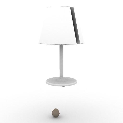 Cad 3D Free Model artemide Da_tavolo  melampo_notte