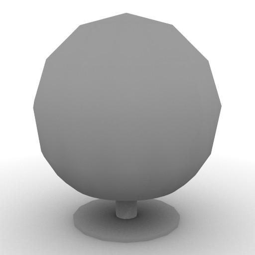 Cad 3D Free Model artemide Da_tavolo  signoria_50