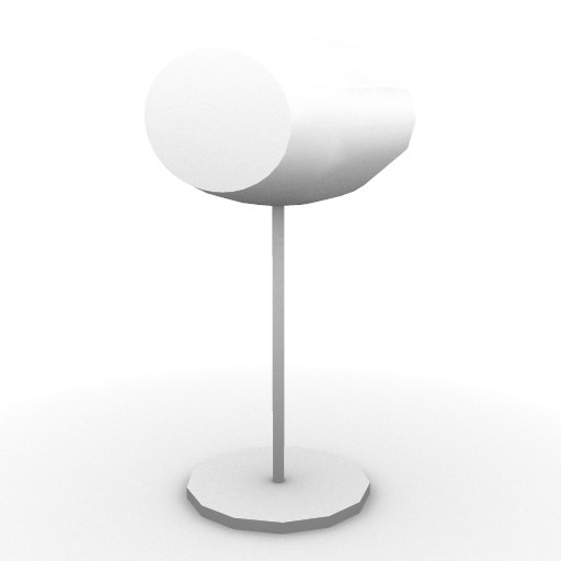 Cad 3D Free Model artemide Da_tavolo  time&space