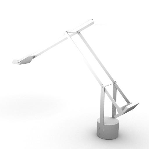 Cad 3D Free Model artemide Da_tavolo  tizio