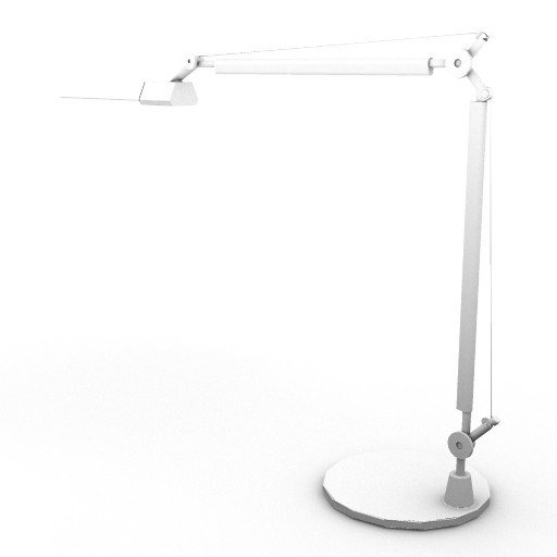 Cad 3D Free Model artemide Da_tavolo  tolomeo_video