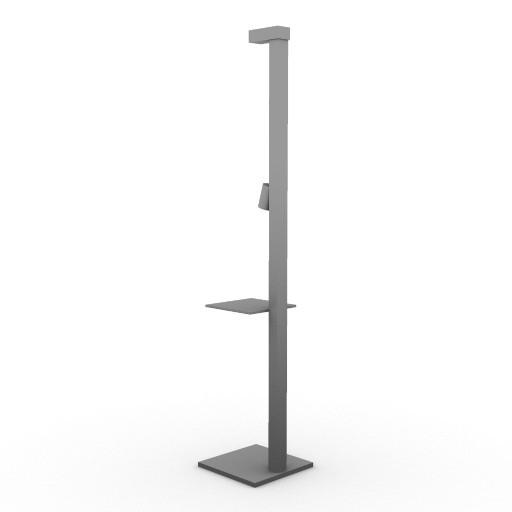 Cad 3D Free Model artemide Da_terra  multiper