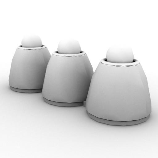 Cad 3D Free Model artemide Da_terra  trikalias