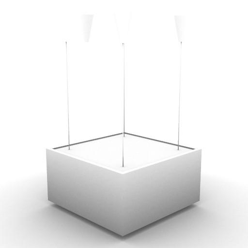 Cad 3D Free Model artemide Sospese  andro_300x300