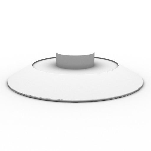 Cad 3D Free Model artemide Sospese  float_circolare_soff