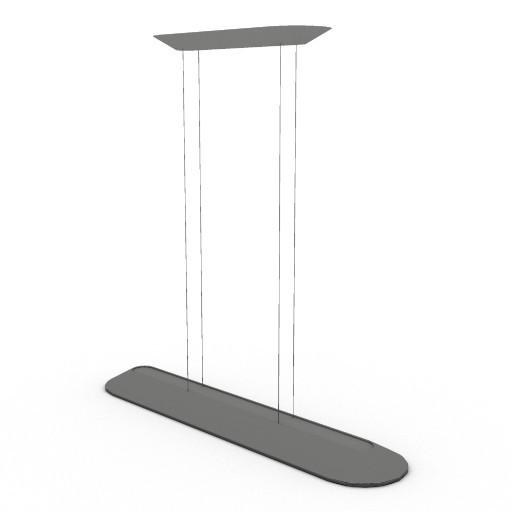 Cad 3D Free Model artemide Sospese  float_lineare_sosp