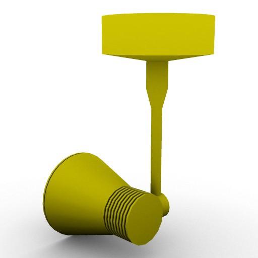 Cad 3D Free Model artemide Sospese  miniflap_spot_a