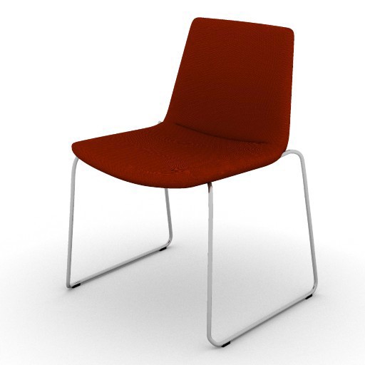 Cad 3D Free Model beb Cosmos_chairs  cs48_f