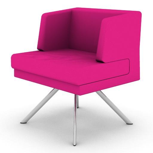 Cad 3D Free Model boss  g_swivel_chair