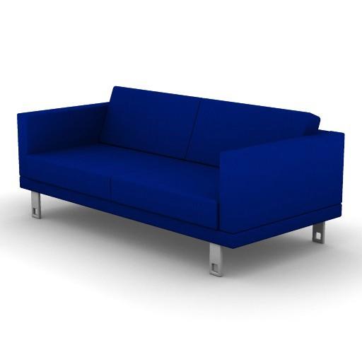 Cad 3D Free Model boss  milli_sofa