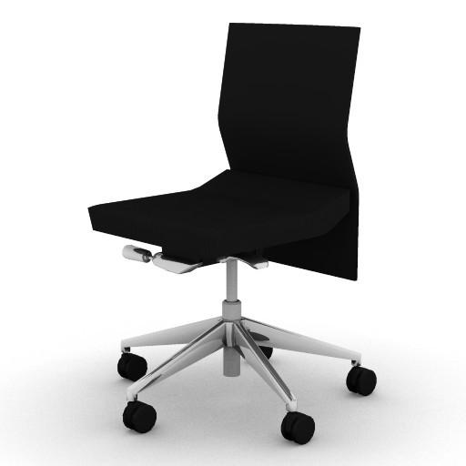 Cad 3D Free Model boss  trim_chair