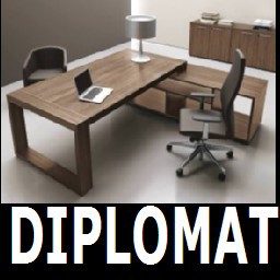 Cad 3D Free Model cf  diplomat