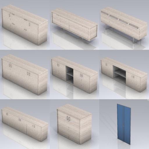 Cad 3D Free Model cf  z1_han
