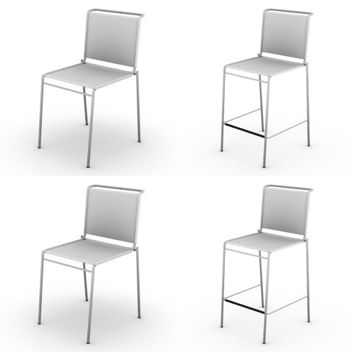 Cad 3D Free Model ciatti  sedute