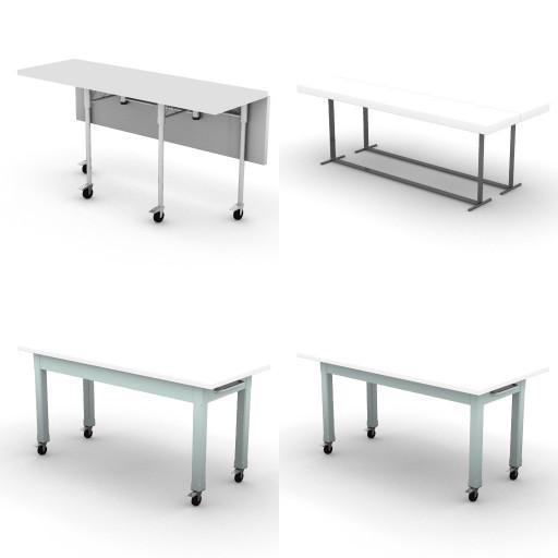 Cad 3D Free Model ciatti  tavoli