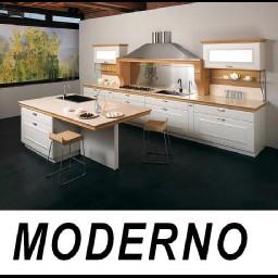 Cad 3D Free Model cucina  moderno
