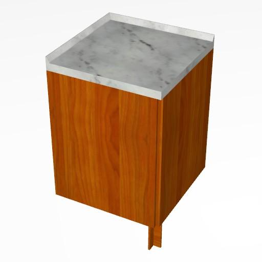 Cad 3D Free Model cucinasmart  angolo