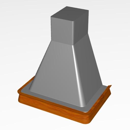 Cad 3D Free Model cucinasmart  cappe