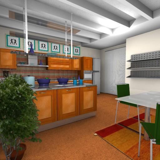 Cad 3D Free Model cucinasmart Esempi  __amb_es1