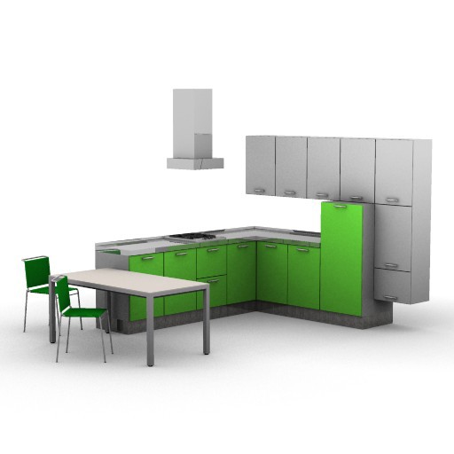 Cad 3D Free Model cucinasmart Esempi  es_3