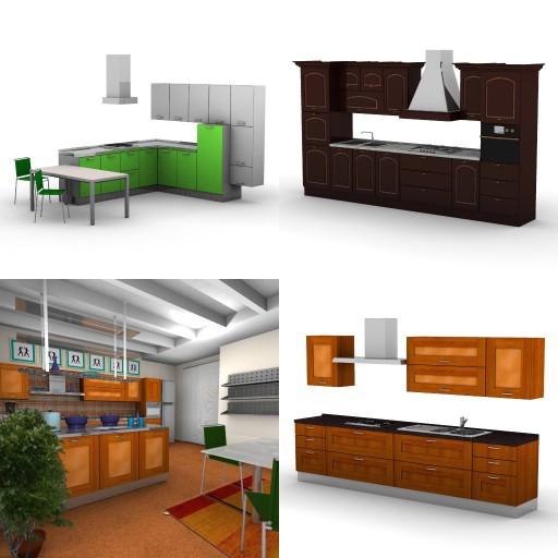 Cad 3D Free Model cucinasmart  esempi