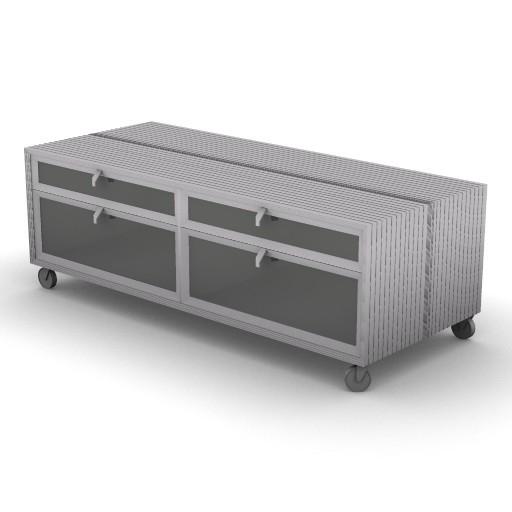 Cad 3D Free Model driade Contenitori  pandorav_b