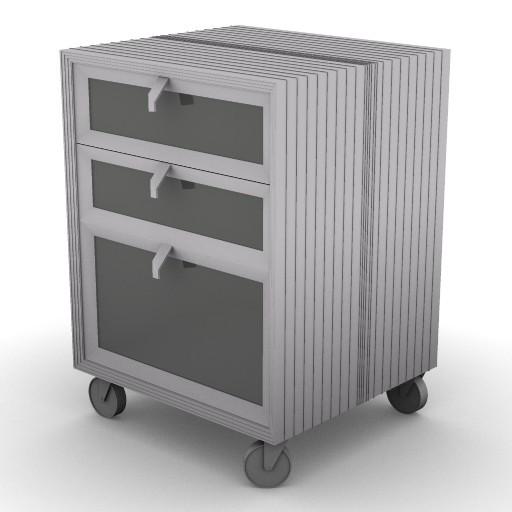 Cad 3D Free Model driade Contenitori  pandoravi