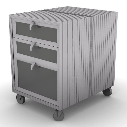 Cad 3D Free Model driade Contenitori  pandoravi_b