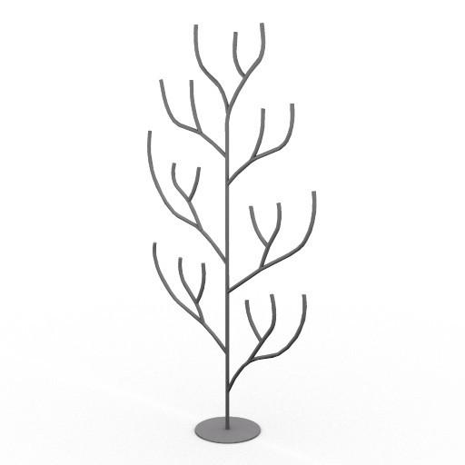 Cad 3D Free Model driade Sedute  hanahana
