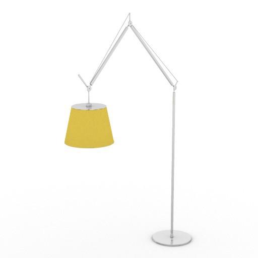 Cad 3D Free Model driade Sedute  luce_1