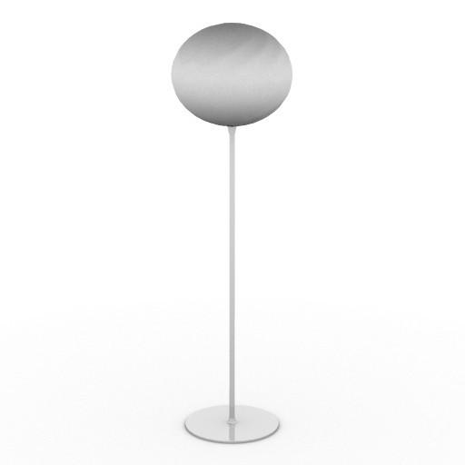Cad 3D Free Model driade Sedute  luce_2