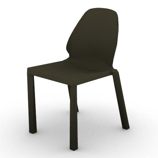 Cad 3D Free Model driade Sedute  tetrachair