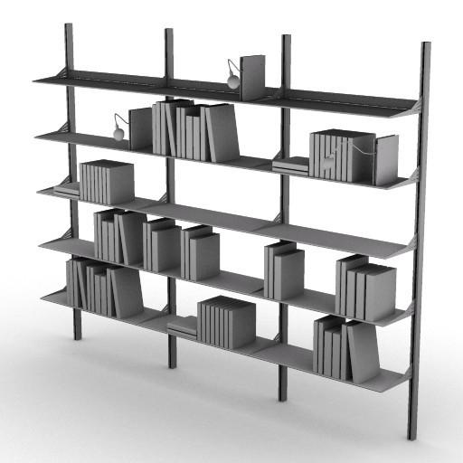 Cad 3D Free Model driade Sistemi  kaos_m