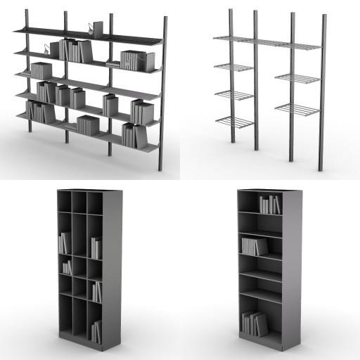 Cad 3D Free Model Driade  sistemi