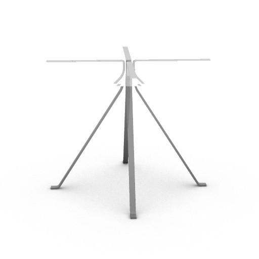 Cad 3D Free Model driade Tavoli  cuginob